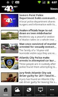 NBC40 News - screenshot thumbnail