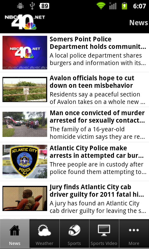 NBC40 News - screenshot