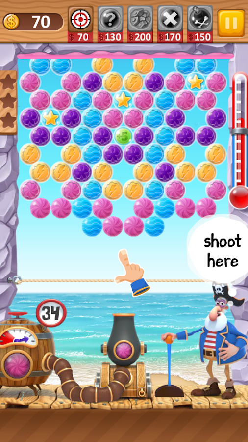 Bubble Shooter Archibald- screenshot