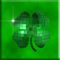 Sparkle Green Shamrocks Live logo