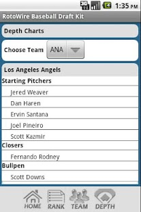 2013 Fantasy Baseball Draft - screenshot thumbnail