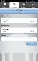 Screenshot of Timberline Mobile Banking