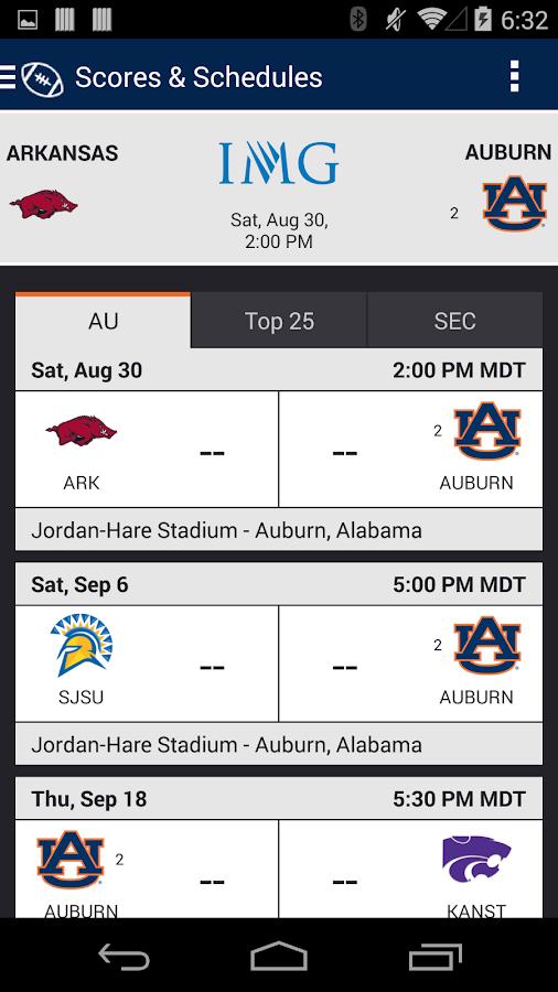 Auburn Tigers Gameday - screenshot
