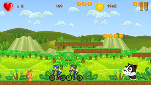 玩休閒App|Crazy Farm Runner Heroes免費|APP試玩