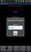 Screenshot of SimpleIFTA Trucking IFTA Log