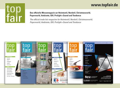 top fair - Das Messemagazin