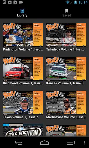 ROAR weekly race magazine