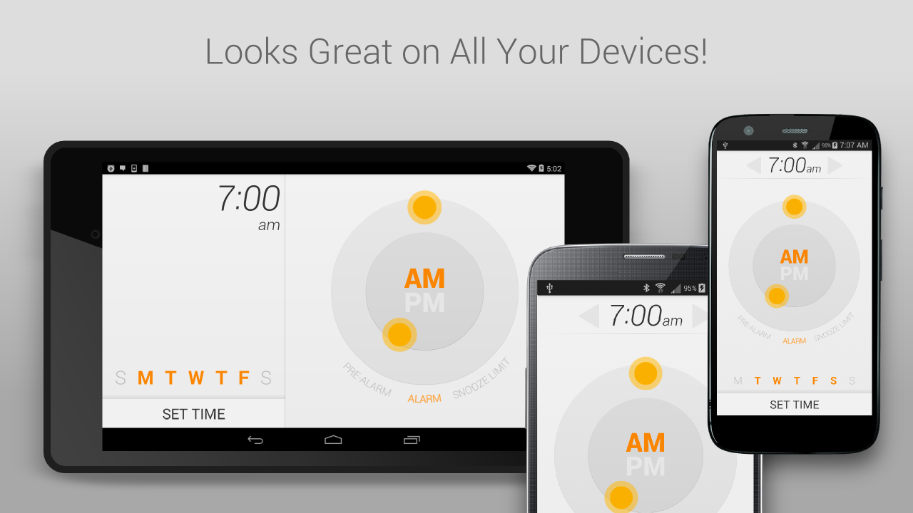 Life Time Alarm Clock - screenshot