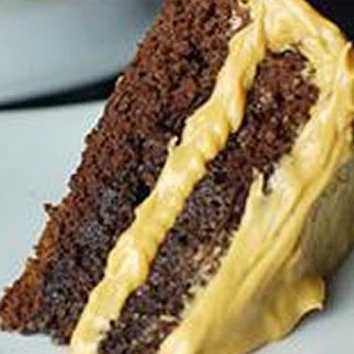 Bailey's Chocolate Cake with Peanut Butter Frosting