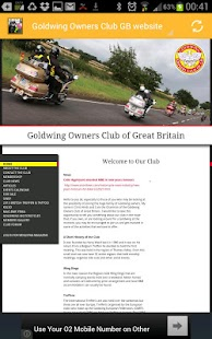 Goldwing Web- screenshot thumbnail