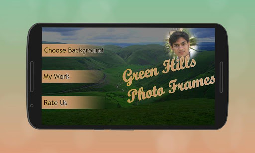 Green Hill Natural Photo Frame