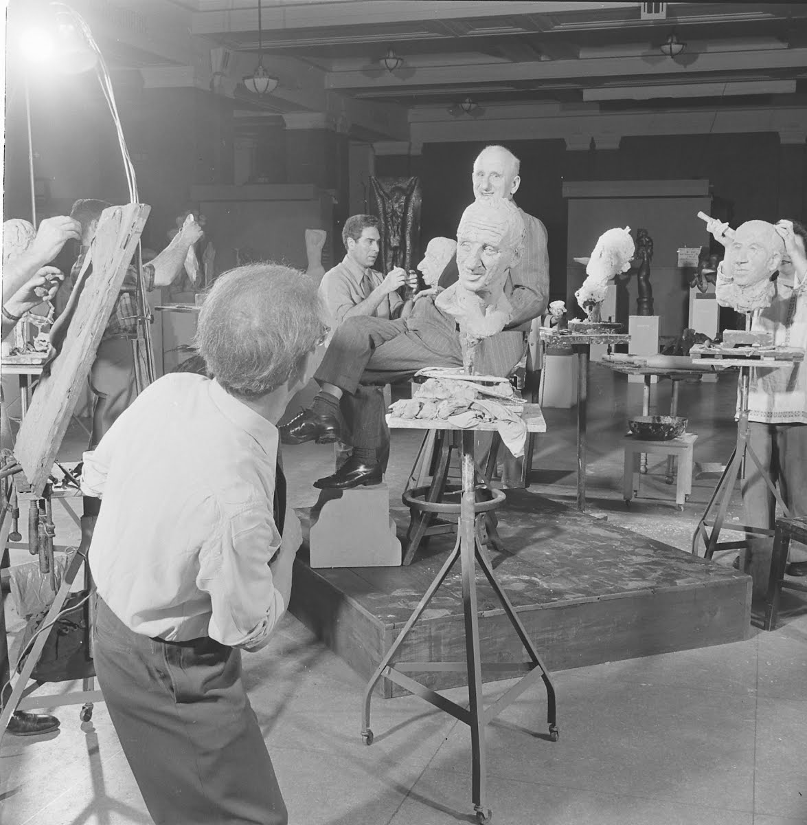 Sculptors & Jimmy Durante
