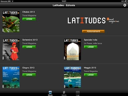 Latitudes- miniatura screenshot