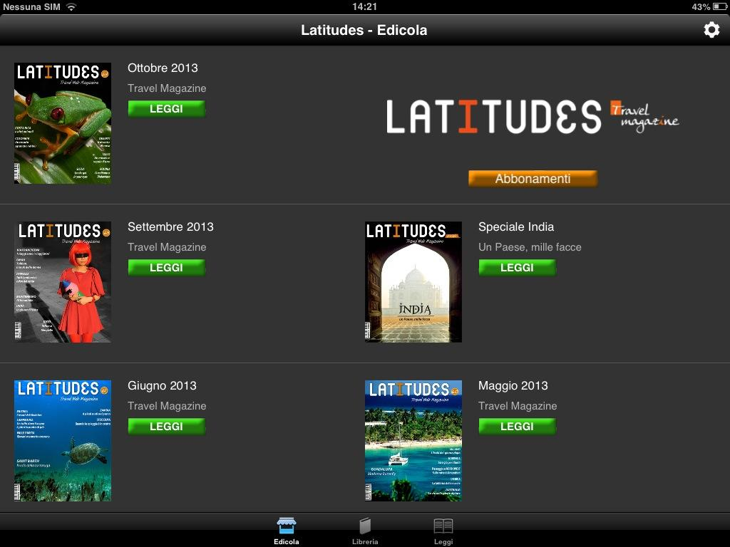 Latitudes- screenshot