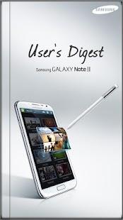 GALAXY NoteII User's Digest(S) - screenshot thumbnail