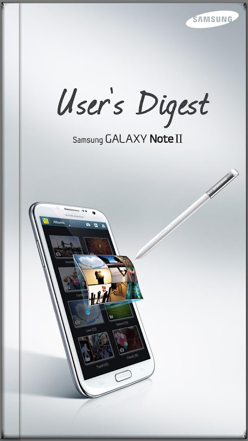 GALAXY NoteII User's Digest(S) - screenshot