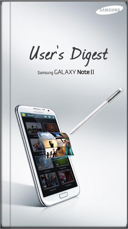 GALAXY NoteII User's Digest(S) - screenshot