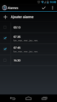 Screenshot of Alarm Clock for Nexus