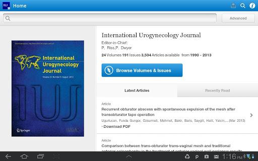 Int'l Urogynecology Journal