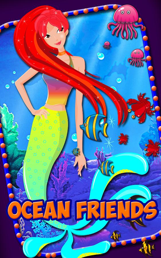 Little mermaid dress up salon screenshot