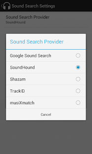 Sound Search for DashClock - screenshot thumbnail