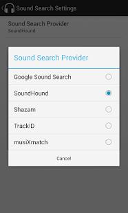 Sound Search for DashClock - screenshot thumbnail