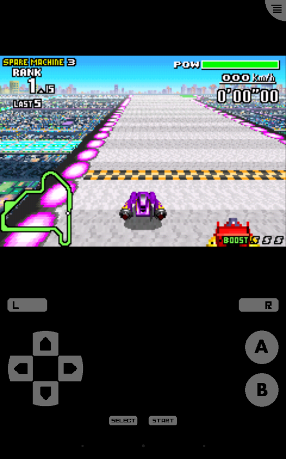 John GBA Lite - GBA emulator - screenshot