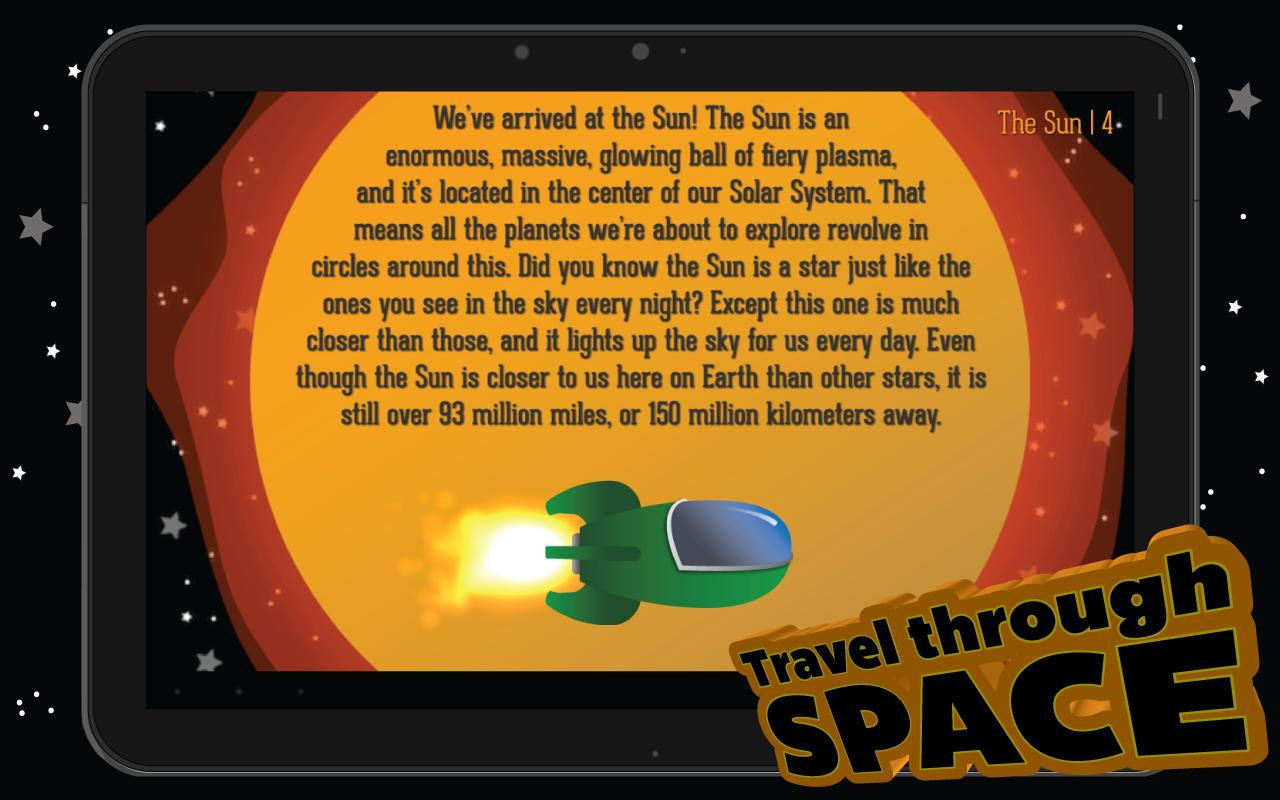 Our Solar System - Kids Book - screenshot