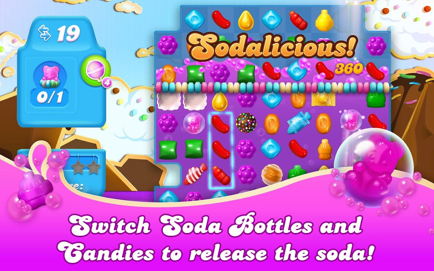 Candy Crush Soda Saga- screenshot