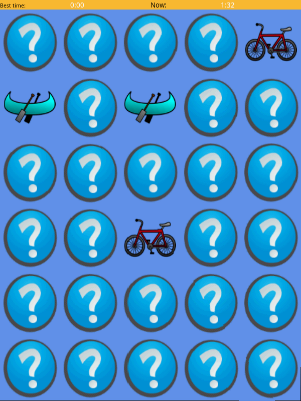 Memory Game - screenshot