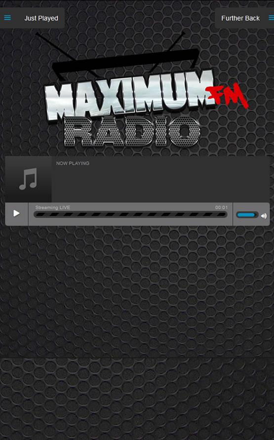Maximum FM Radio- screenshot