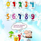 Count in english learn number icon