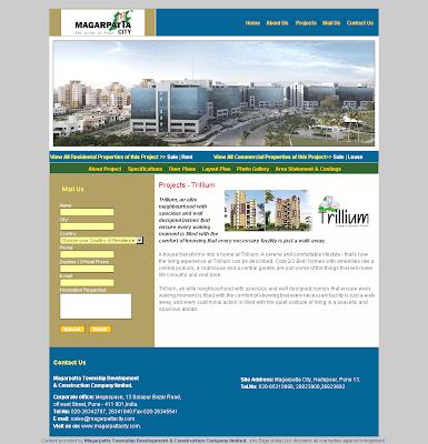 Ravi Karandeekar's Pune Real Estate Advertising and