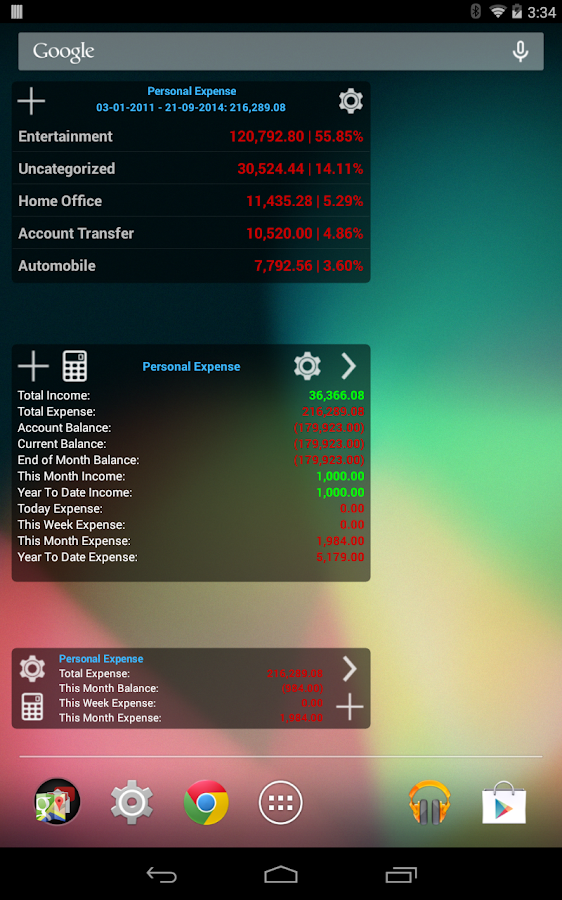Expense Manager Pro - screenshot