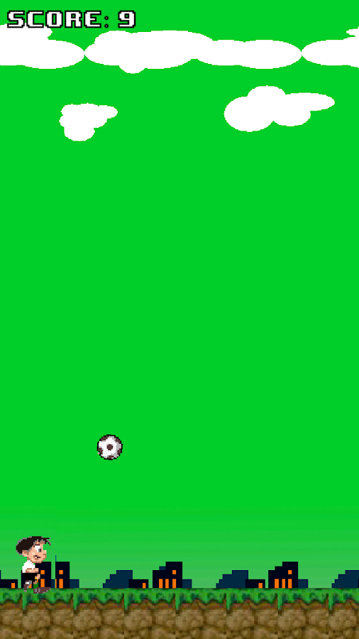 Soccer Guy - Kick it- screenshot