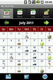 My Activity Screenshot 1