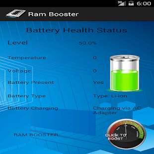 Ram Booster - screenshot thumbnail