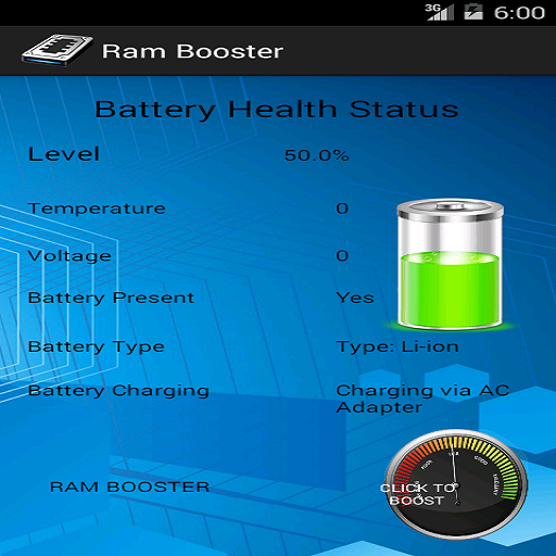 Ram Booster - screenshot