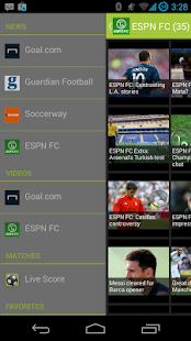 Football Breaking News -Soccer- screenshot thumbnail