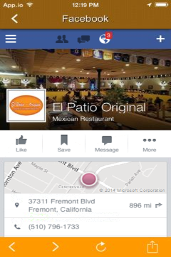 El Patio Original Dining Android Apps on Google Play