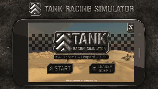 Tank Racing Simulator