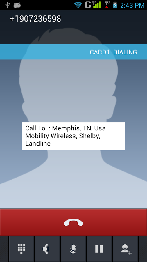 Caller Location - screenshot