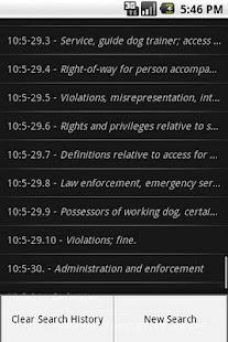 NJLaw - Civil Rights -Title 10- screenshot thumbnail