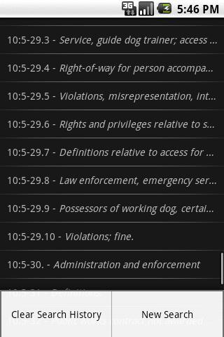 NJLaw - Civil Rights -Title 10- screenshot