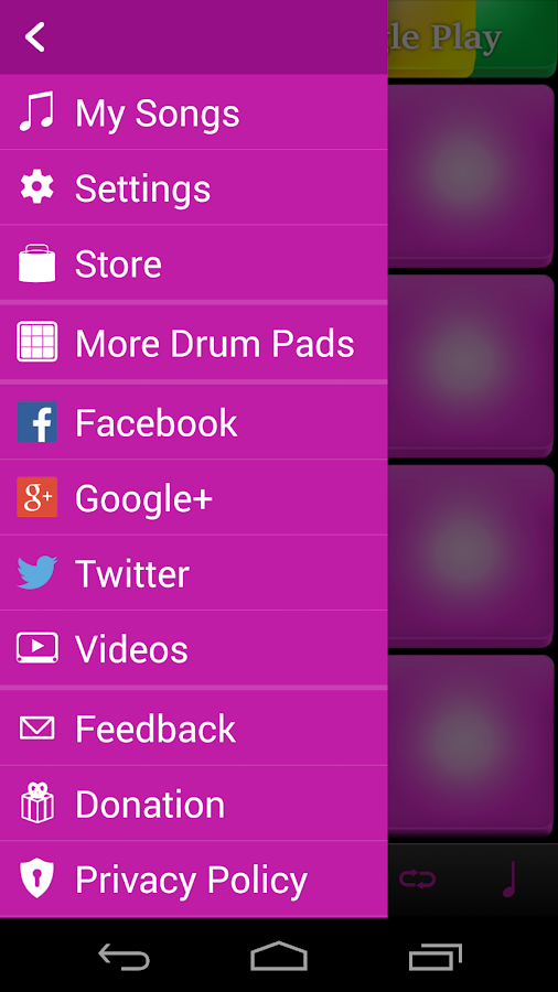 Electro Drum Pads - screenshot