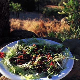 Warm Chanterelle and Pancetta Salad Recipe