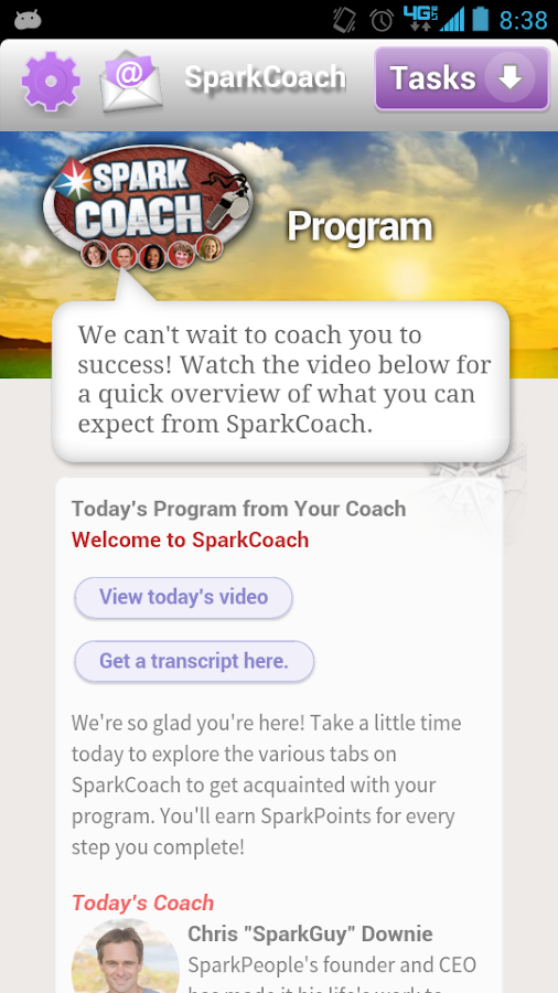 SparkCoach - screenshot