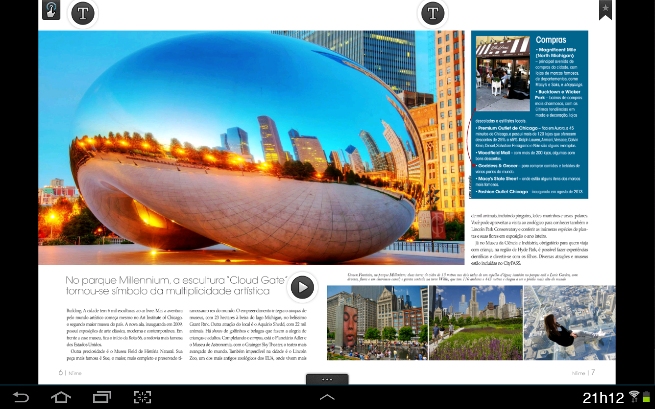 Revista NTime - screenshot
