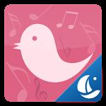 Pink Bird Boat Browser Theme 1.2 Apk
