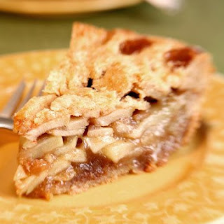 Ron's Brandy Apple Pie.